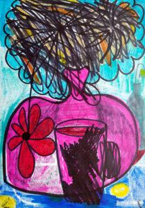 Vase am Morgen (negativ)