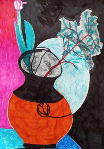 Sophies Vase (positiv)