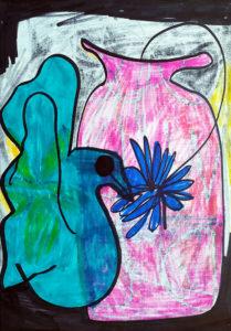 Türkisvogel (negativ)
