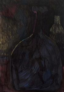 Vasen im dunkel (positiv)