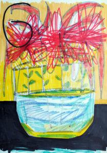 Wilde Blumen (negativ)